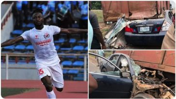 Nigeria International Striker, Ifeanyi George Passes Away In Car Accident 15