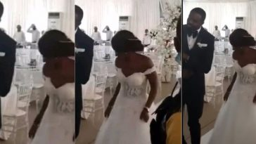 Coronavirus: Nigerian Couple Holds Their Wedding Reception With No Single Guest On Sight [Video] 11