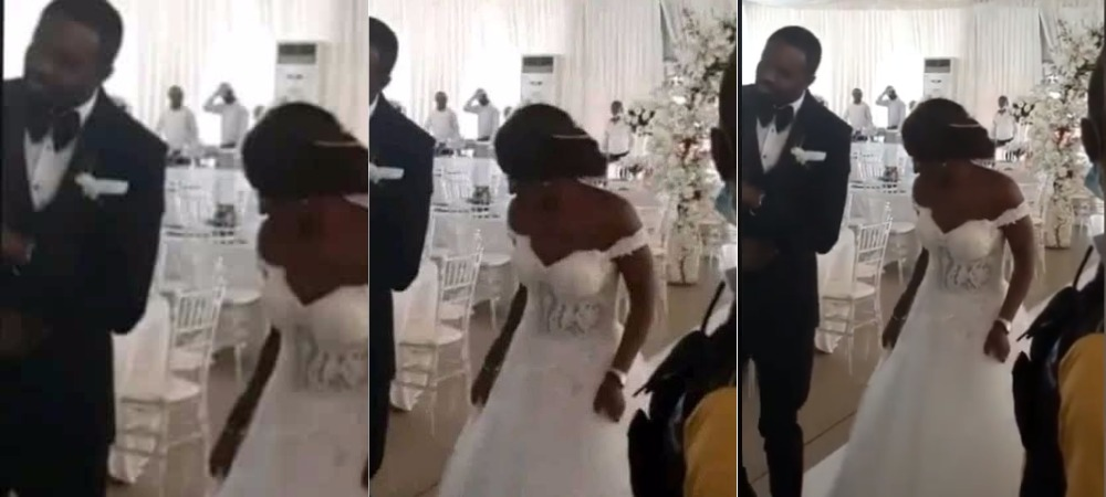 Coronavirus: Nigerian Couple Holds Their Wedding Reception With No Single Guest On Sight [Video] 1