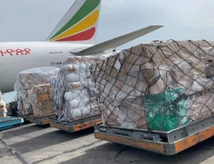 Coronavirus medical kit donated by Chinese Billionaire Jack Ma arrives Nigeria - PHOTOS 1