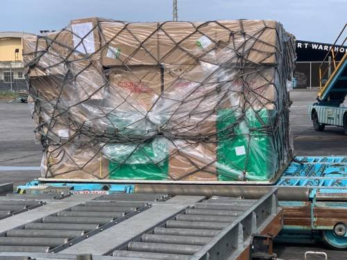 Coronavirus medical kit donated by Chinese Billionaire Jack Ma arrives Nigeria - PHOTOS 2
