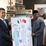 Coronavirus: Chinese Government Donate Locally Made Medical Kits To Nigeria Healthcare Workers 29