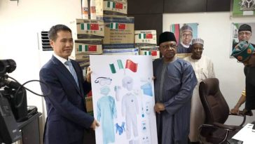 Coronavirus: Chinese Government Donate Locally Made Medical Kits To Nigeria Healthcare Workers 12