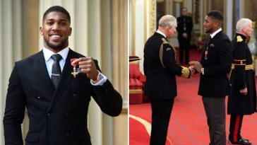 Anthony Joshua Goes Into Self-Isolation After Meeting Prince Charles Who Is Infected With Coronavirus 3