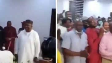 Enugu Governor, Ifeanyi Ugwuanyi Celebrates His Birthday With Massive Crowd Amidst Coronavirus [Video] 4
