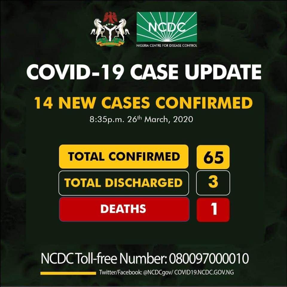 Nine people aboard a vessel in Nigeria tests positive for coronavirus - BREAKING NEWS 2