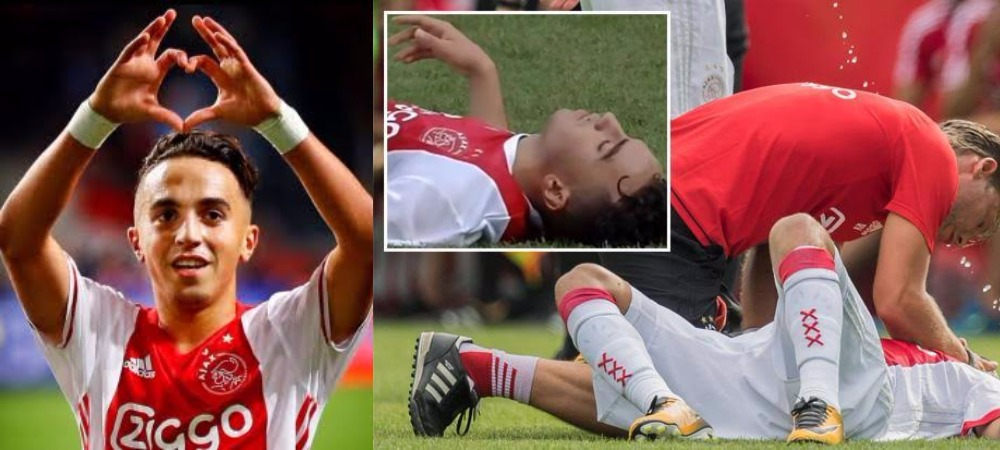 Ajax Player, Abdelhak Nouri Wakes Up After Almost Three Years In ...