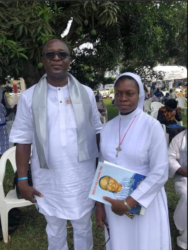 Reverend Sister Henrietta Alokha who died in Abule Ado Explosion has been buried - PHOTOS 2