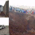 Asteroid in Akure: Ondo State governor visits scene of Akure explosion, reveals what caused the explosion 27