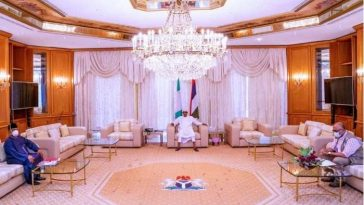 NCDC DG, Minister Of Health Visits Buhari In Aso Rock To Brief Him On Coronavirus [Photos/Video] 4