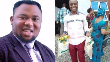 Coronavirus: Pastor Nwachukwu Donates Food Items, Cash To Church Members In Anambra 5