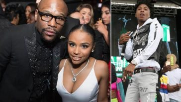 Floyd Mayweather's Daughter Arrested For Stabbing NBA Youngboy's Baby Mama During Fight 1