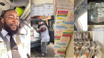 Coronavirus: Dangote's Son In-Law, Jamil Abubakar Donates N50m Cash, Food Items To Nigerians 5