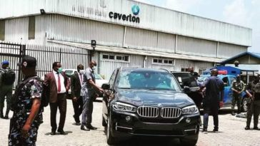 Governor Wike storms Caverton helicopters office, demand names of passengers flown into the state. 6