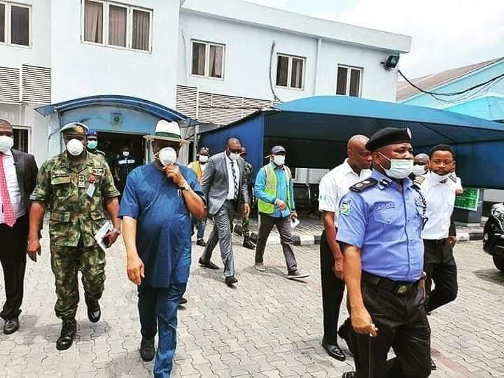 Governor Wike storms Caverton helicopters office, demand names of passengers flown into the state. 3