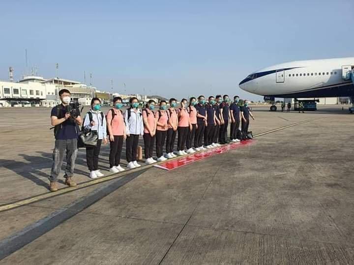 Chinese medical team arrives Nigeria to fight coronavirus - Breaking News 2