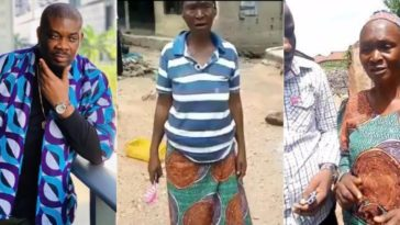 Don Jazzy Gifts N100k To Hungry Old Woman Who Offered To Sleep With Any Man For N500 [Video] 6