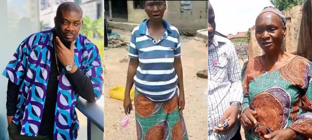 Don Jazzy Gifts N100k To Hungry Old Woman Who Offered To Sleep With Any Man For N500 [Video] 1