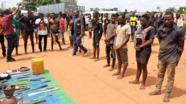 Police Arrest 191 Suspects For Robbery During Coronavirus Lockdown in Lagos And Ogun 6