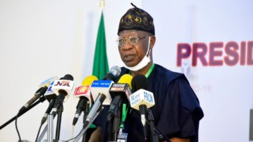 Coronavirus: Federal Government Can't Share Donated Funds To Nigerians — Lai Mohammed 5