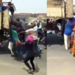 Hungry Nigerians Attack And Steal From Truck Carrying Bags Of Rice In Broad Daylight [Video] 28