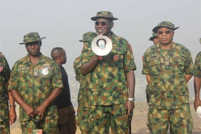 Buratai Vows He Will Remain In North East Until Nigerian Army Defeats Boko Haram 1