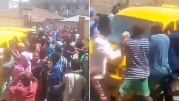 COVID-19 Lockdown: Hungry Lagos Residents Attacks Bus Loaded With Bread In Broad Daylight [Video] 5