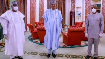 Gbajabiamila And Lawan Meets Buhari, Discusses How To Provide Free Electricity For Nigerians 2