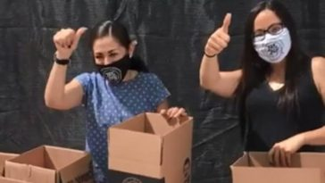 COVID-19: Daughter Of Mexican Drug Lord, El Chapo Distributes Relief Package To Poor Residents 7