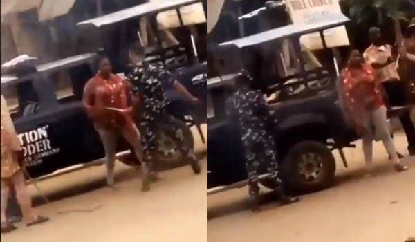 COVID-19 Lockdown: Police Arrests Two Officers Caught Flogging Woman In Osun [Video] 1