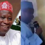 Kano Governor, Abdullahi Ganduje Seen Allegedly Converting A Young Christian Girl To Islam [Video] 28