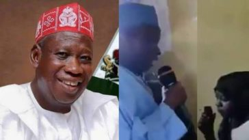 Kano Governor, Abdullahi Ganduje Seen Allegedly Converting A Young Christian Girl To Islam [Video] 10