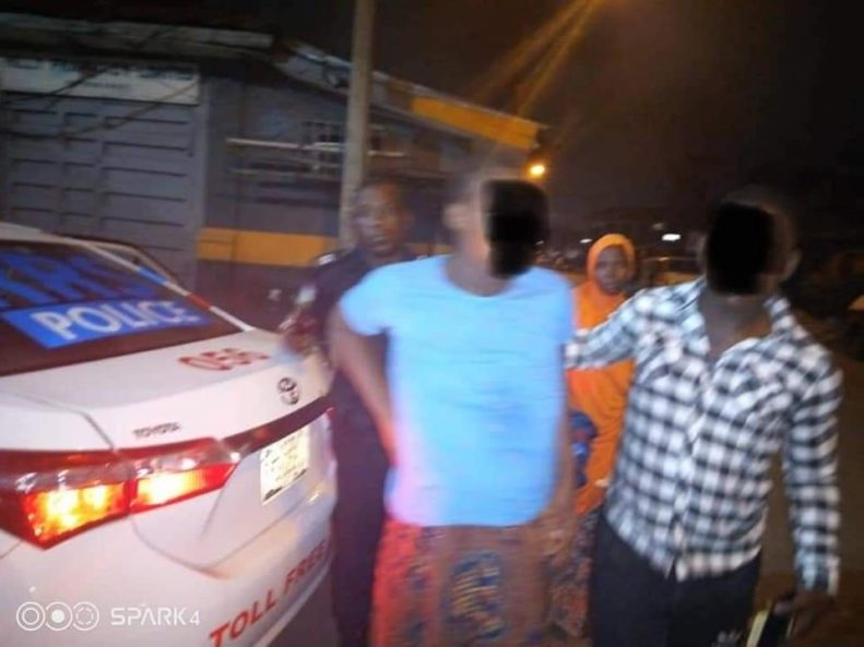 How Lagos State Rapid Response Squad helped man take his pregnant wife to the hospital amid coronavirus lockdown - PHOTOS 2