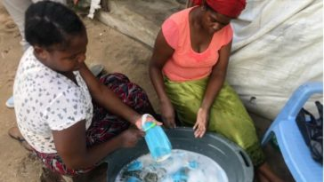 Coronavirus: Two Women Arrested For Washing Already Used Face Masks For Resell In Mozambique 1
