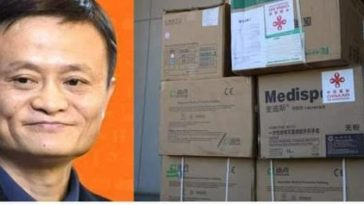 COVID-19: Jack Ma Donates 500,000 Test Kits, 300 Ventilators To Nigeria, Others African Countries 2