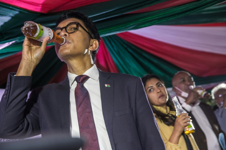 Madagascar President, Andry Rajoelina Launches Herbal Drink To Cure And Prevent Coronavirus 2