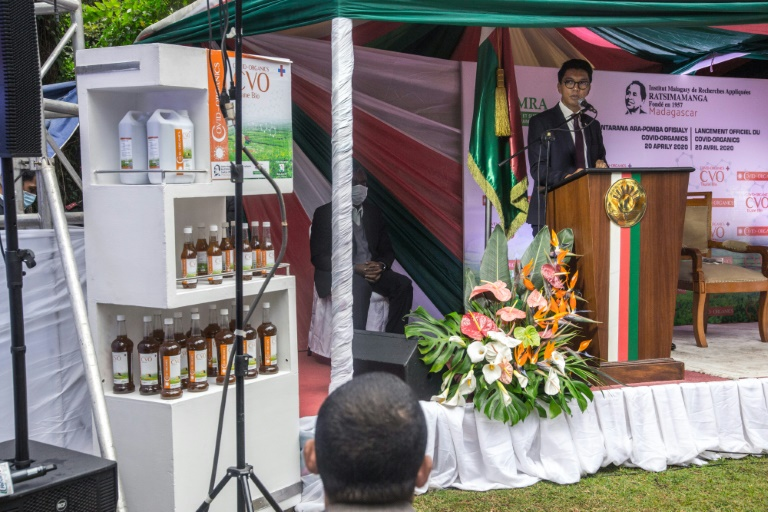 Madagascar President, Andry Rajoelina Launches Herbal Drink To Cure And Prevent Coronavirus 3