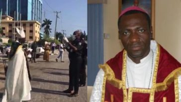 COVID-19: Police Arrest Bishop For Defying Lockdown To Protest At Chinese Embassy In Lagos [Video] 1