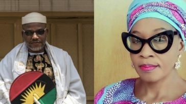 Kemi Olunloyo Insists Nnamdi Kanu Has Died Italy, Shares Burial Photo Of The IPOB Leader 9