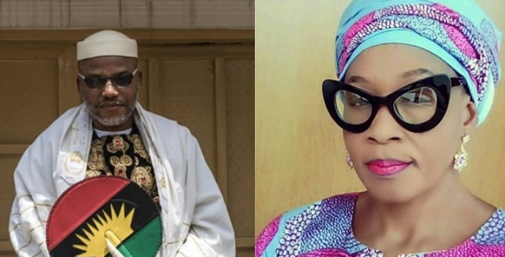 Kemi Olunloyo Insists Nnamdi Kanu Has Died Italy, Shares Burial Photo Of The IPOB Leader 1
