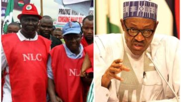 COVID-19: NLC Warns Buhari Against Lockdown Extension, Reveals What Would Likely Happen 3