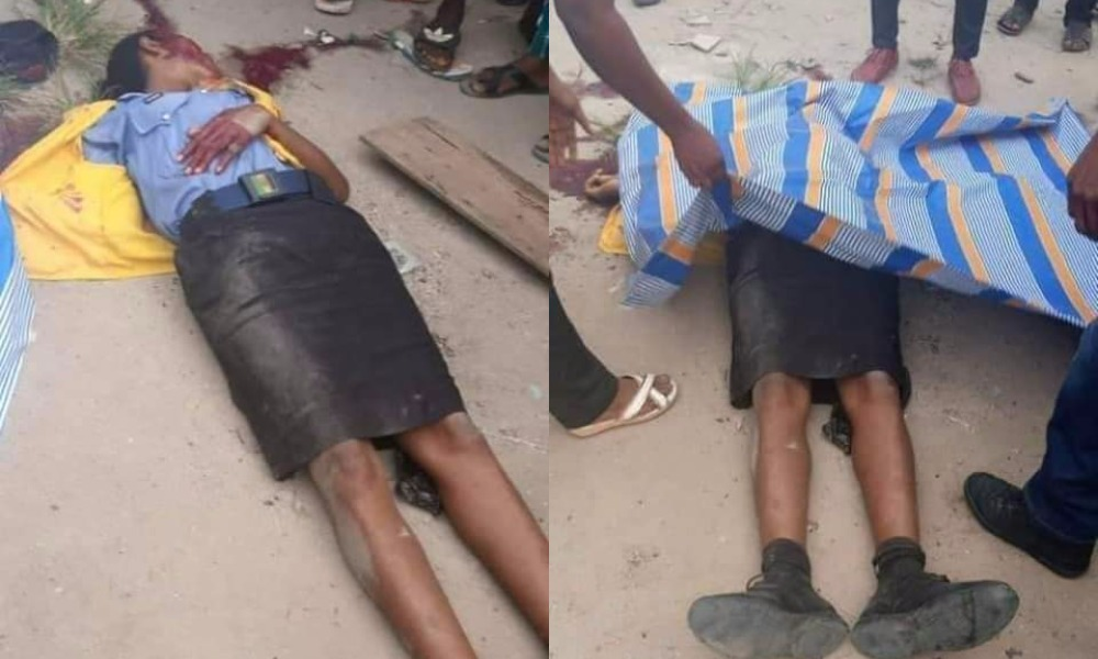 COVID-19: Rivers Taskforce Kills Policewoman Who Tried To Stop Them From Destroying Trader's Goods 1