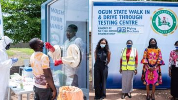 COVID-19: Ogun Government Launches Fully Equipped Walk In & Drive Through Testing Centre [Photos] 12