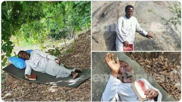 Prophet TB Joshua Praying And Fasting On A Mountain For Coronavirus To End [Photos/Video] 5