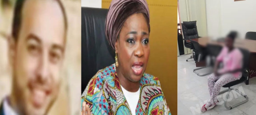 FG Rescues Nigerian Lady Who Was Advertised For Sale On Facebook By Lebanese Man [Video] 1