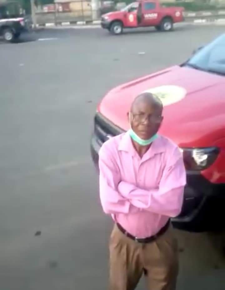 Ekiti Man refuses son who returned from Lagos entry into his house - Photos & Video 1