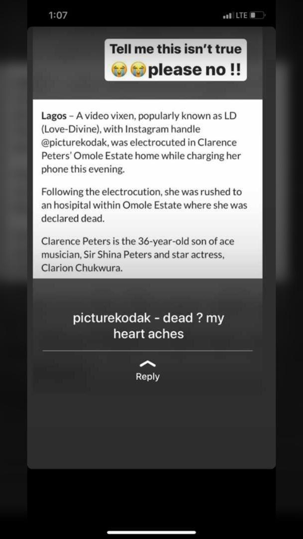 Nigerian Female Dance, Kodak Electrocuted To Death While Charging Her Phone In The Studio 2