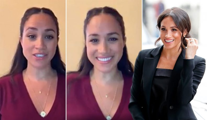Watch Meghan Markle give a young girl advice just before her internship 2
