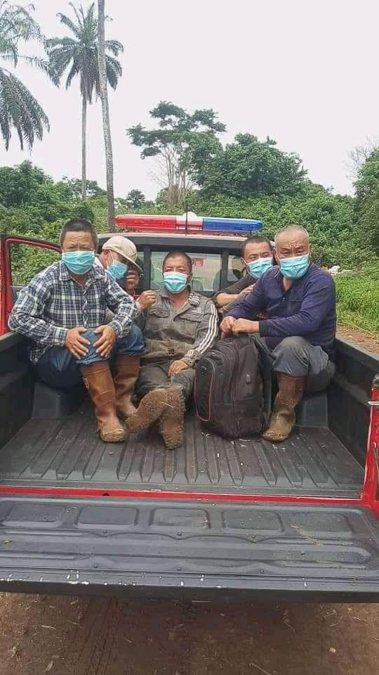 Amotekun Arrests 17 Chinese, 10 Nigerians Over Illegal Mining In Osun Forest [Photos] 4