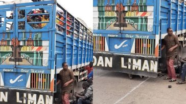 COVID-19: Kwara Police Intercepts 50 Zamfara Passengers Hidden Inside Trailer Loaded With Fruits 7